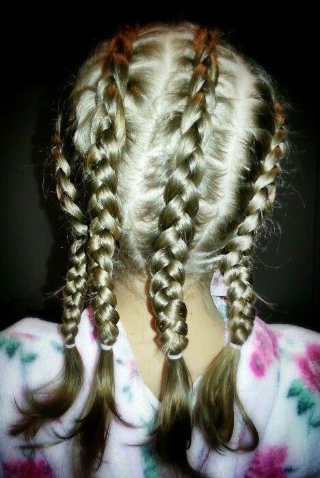 gangster style braids hairdo's