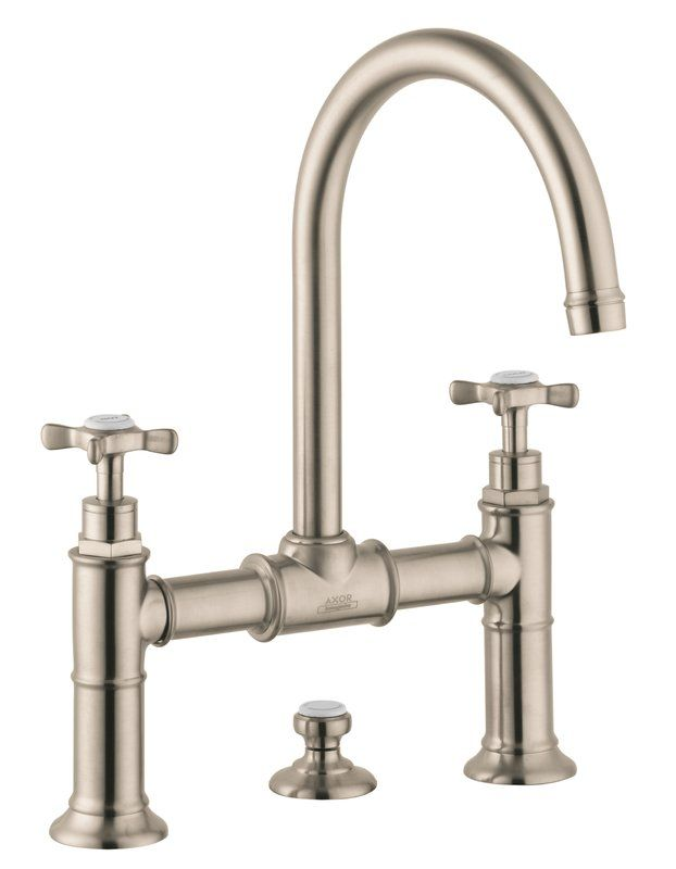 Axor Montreux Double Handle Widespread Bathroom Faucet | PLUMBING ...