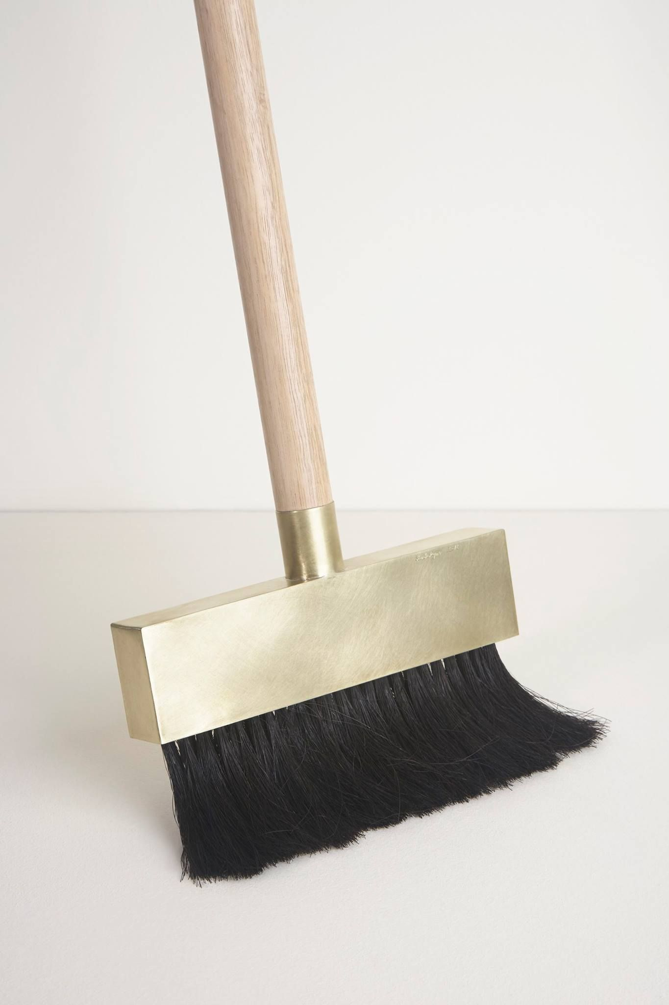 Brass Dustpan and Broom | Minimalist Products | Home decor