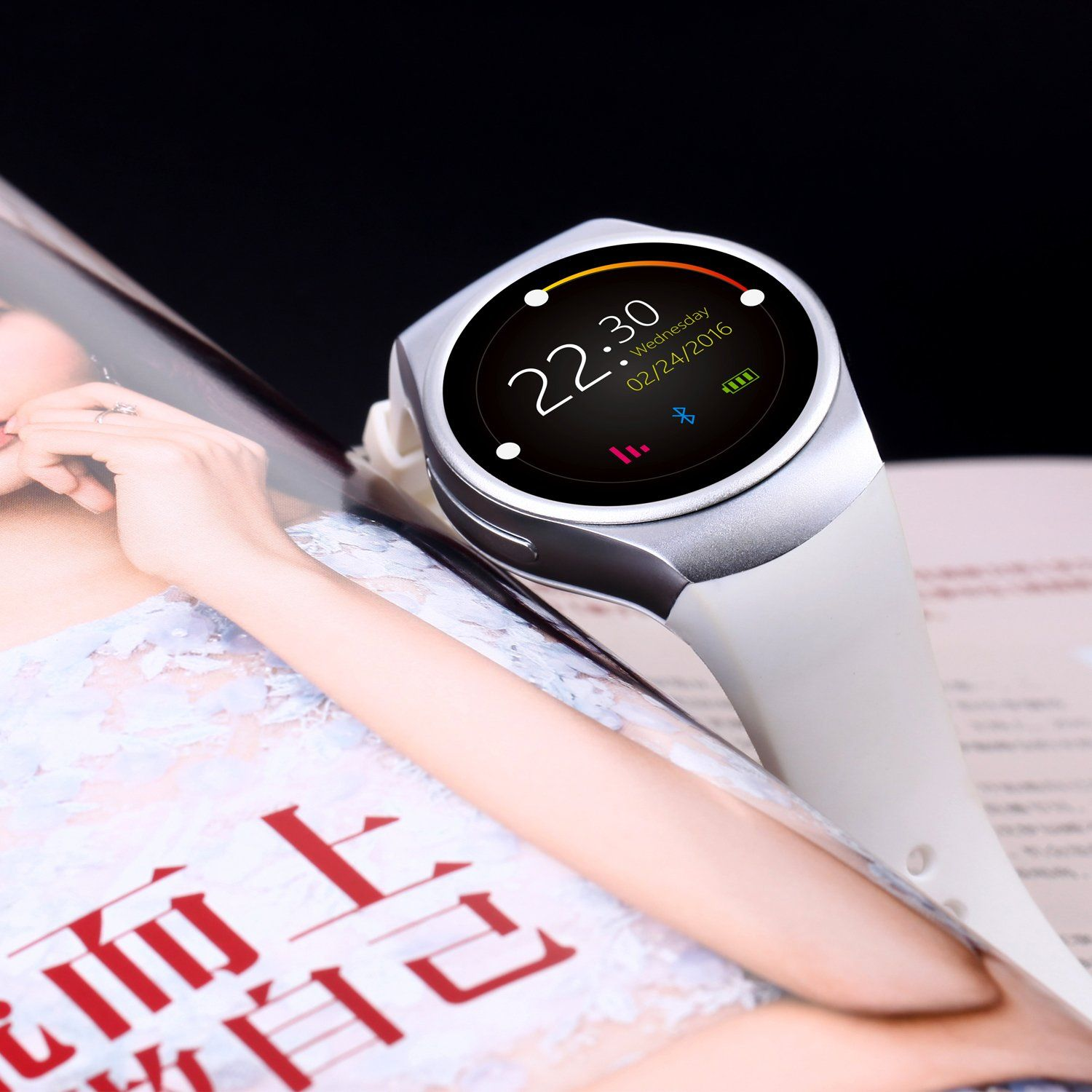 Gpct bluetooth androidios touch screen water resistant