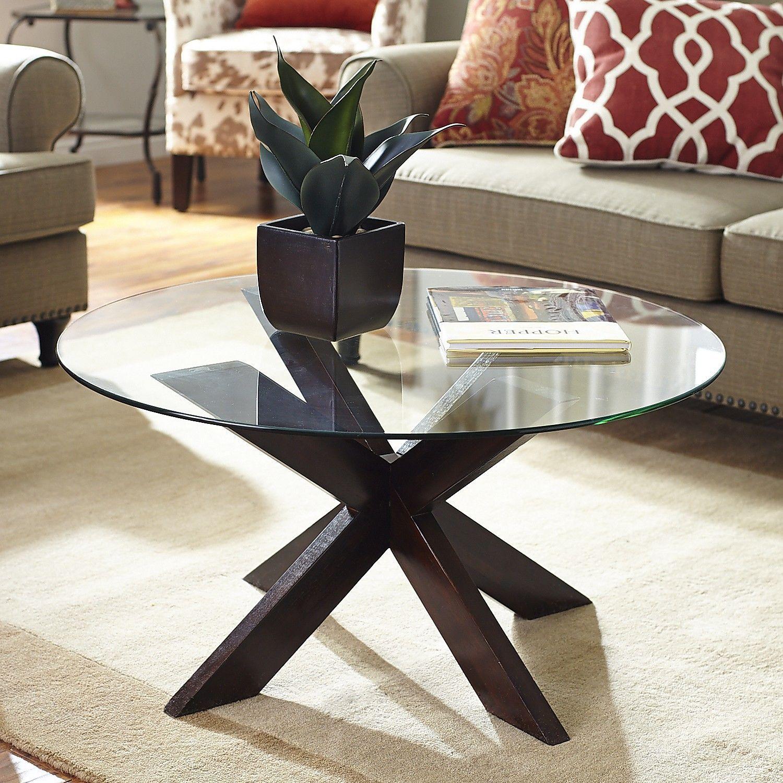 Simon Espresso X Coffee Table Base Coffee Table Base Modern