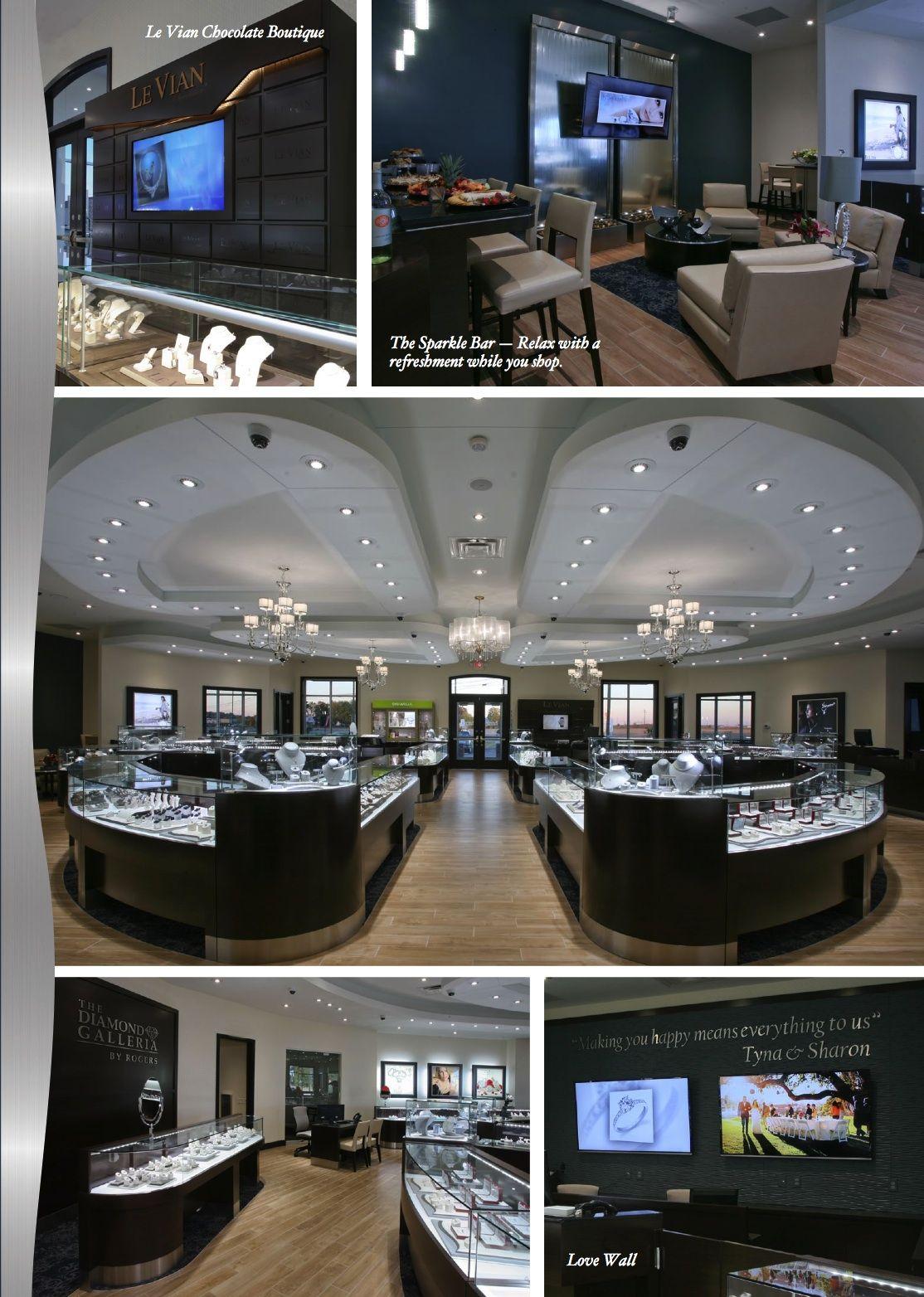48f162ae743 Beautiful Diamond Galleria at Rogers Jewelers. Manufacture & Design ...