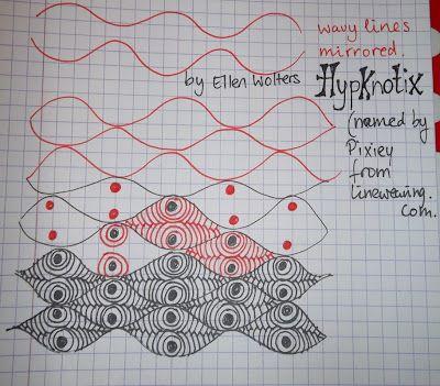 Tekenpraktijk De Innerlijke Wereld: HYPKNOTIX (named by Pixiey) New tanglepattern