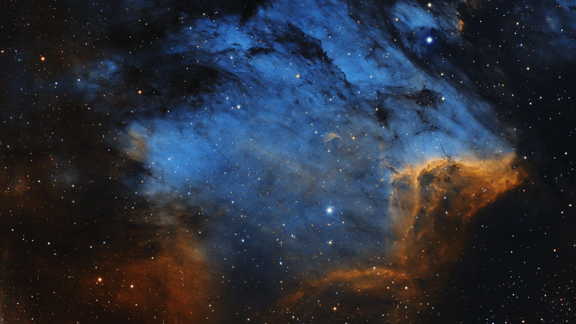 Nebula Clouds Space Galaxy Stars 1920x1080 Wallpaper Hubble Telescope