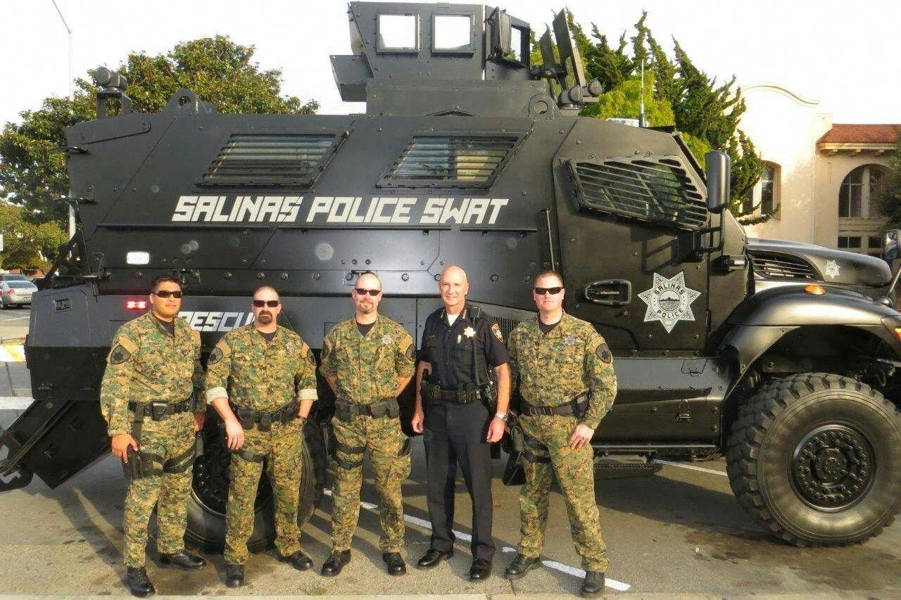 Salina California Police Starcitizenbanu Armored Truck Star