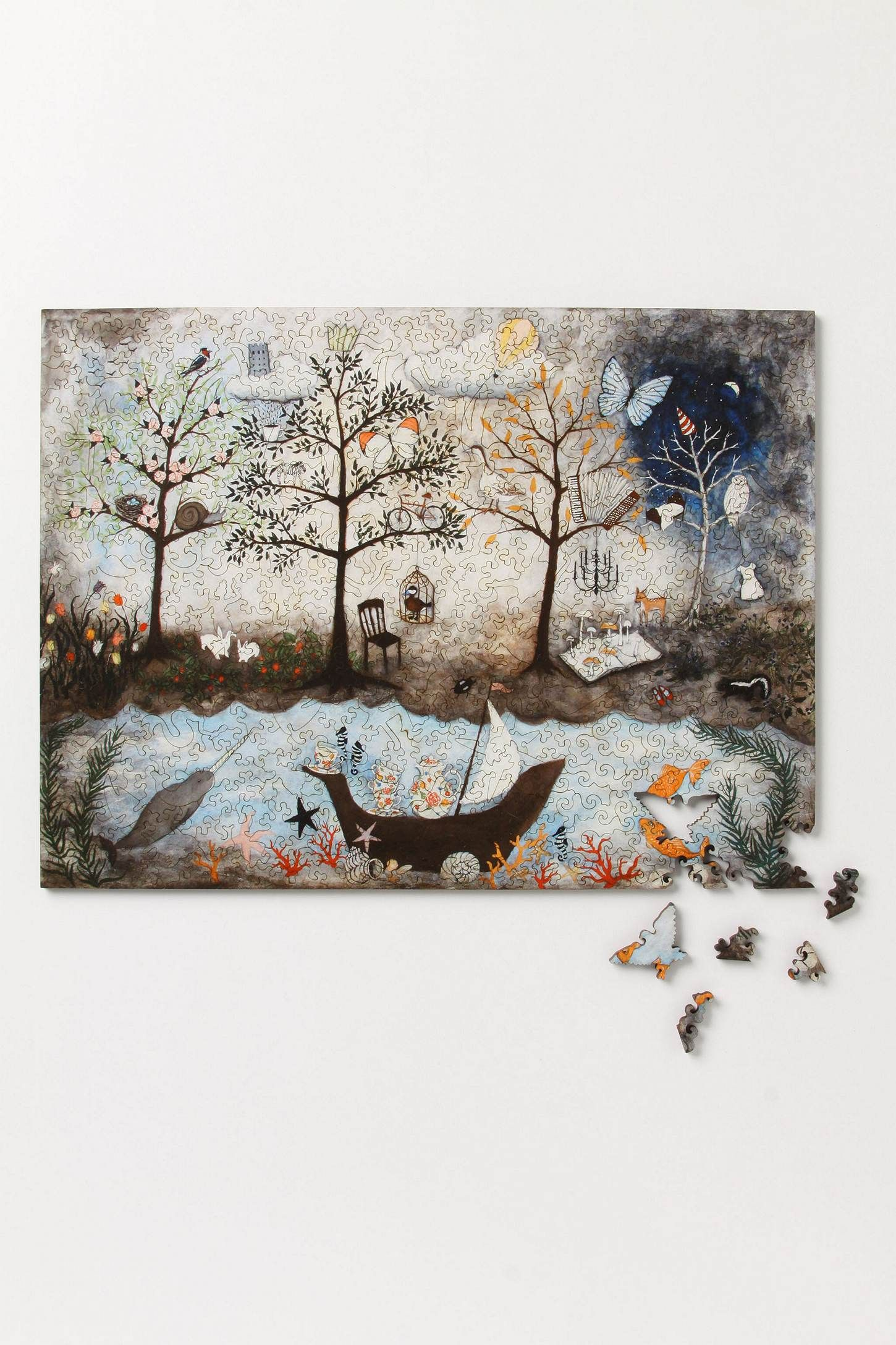 Enchanted Forest Jigsaw Puzzle | Puzzles | Pinterest | Enchanted and ...
