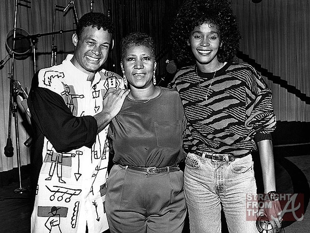 Aretha Franklin with Whitney Houston #ArethaSings