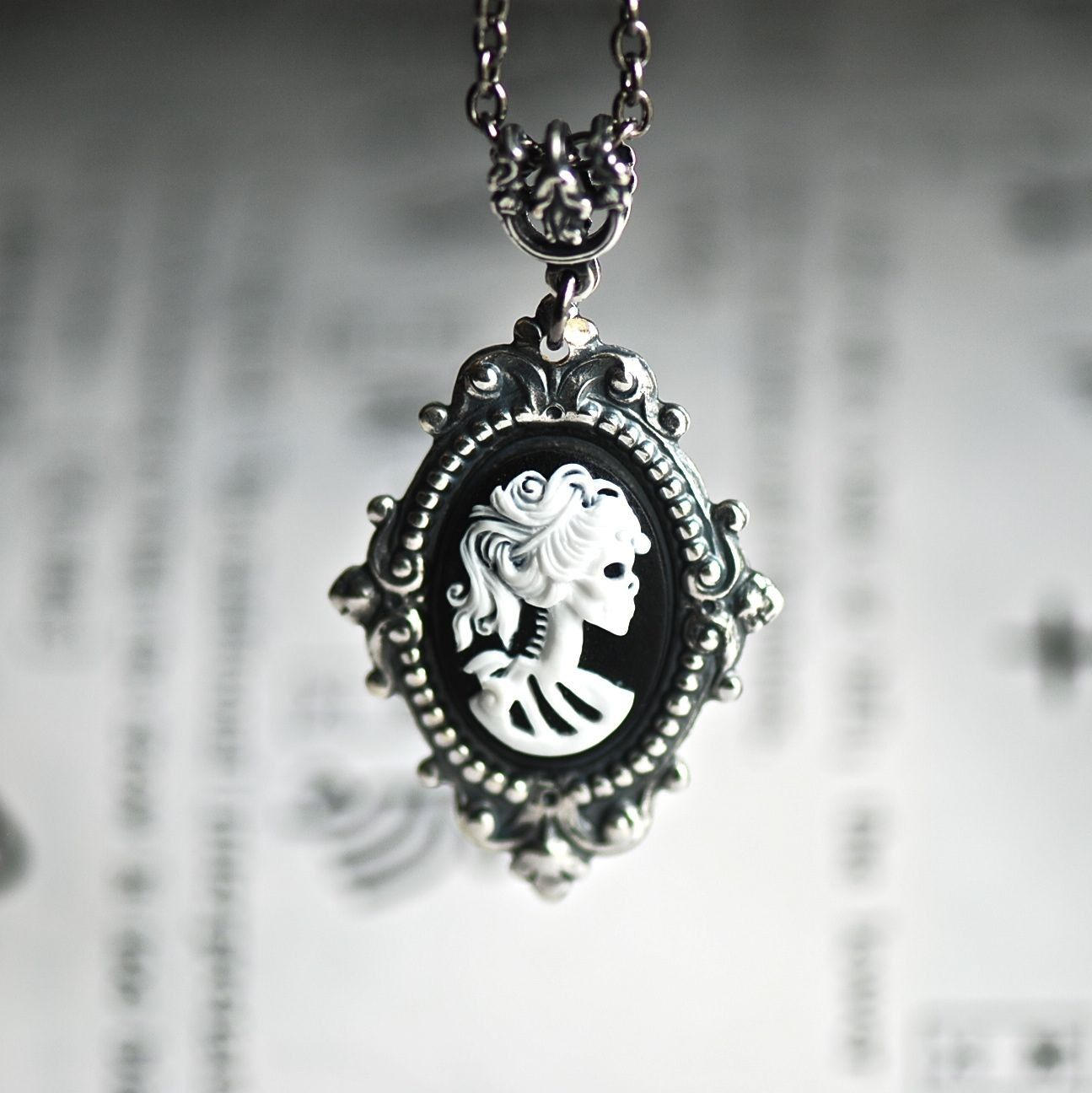 steampunk deviantart on goth necklace art by catherinetterings