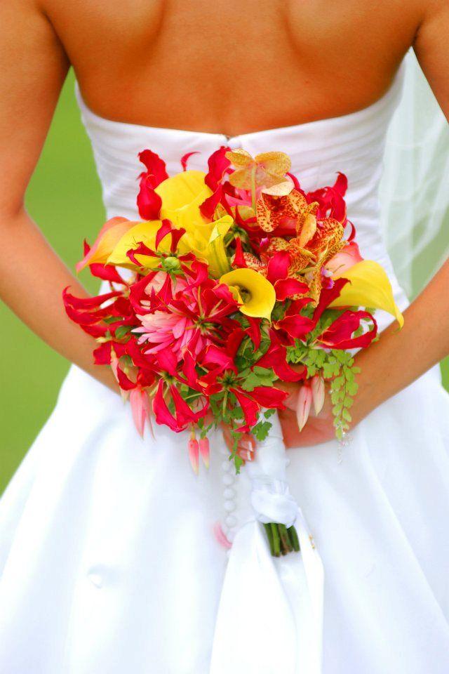 Bouquet Ideas Wedding Ideas San Diego Weddings Red Bouquet
