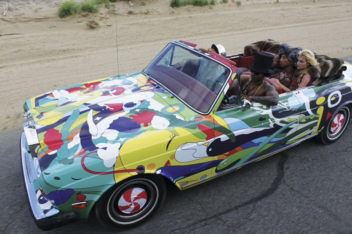 Pharrell Williams In Conversation Rolls royce, Car