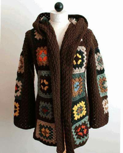 Crochet Abrigo Mujer Pinterest 6ywdqwwoz Abrigos 0qdwKEZ