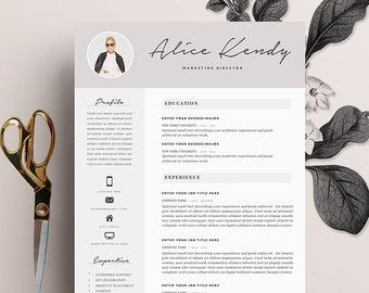resume template 5 page pack cv template by theresumeboutique