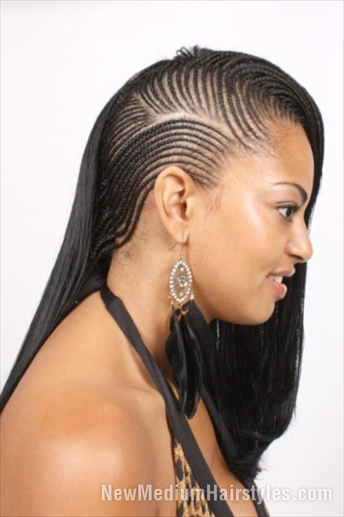 Braided Hairstyles For Black Girls cute hairstyles for black girls weave braided hairstyle Hairstyles For Black Girl