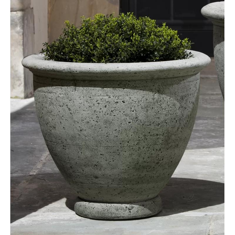 Lidio Cast Stone Pot Planter Stone Planters Cast Stone Planters