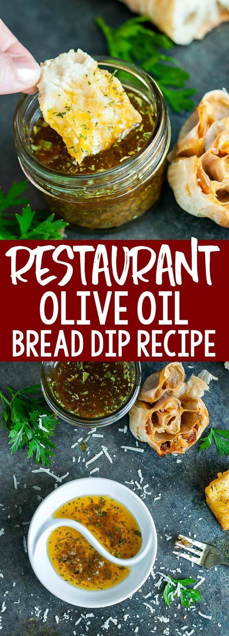 Restaurant-Style Olive Oil and Herb Bread Dip – Our favorite appetizer!