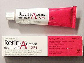 RETIN-A 0.1% CREAM #anti-aging #moisturizer #acne (Retin-A is still the  gold standard for preventing--besides sunscreen--and treating wrinkles)