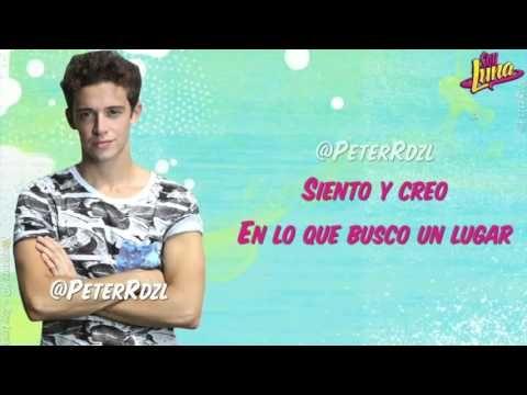 #SoyLuna Siento Ruggero Pasquarelli Letra - YouTube A mi me en canta la cancion no se a ustedes