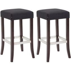 Photo of 79 cm bar stool set Martha