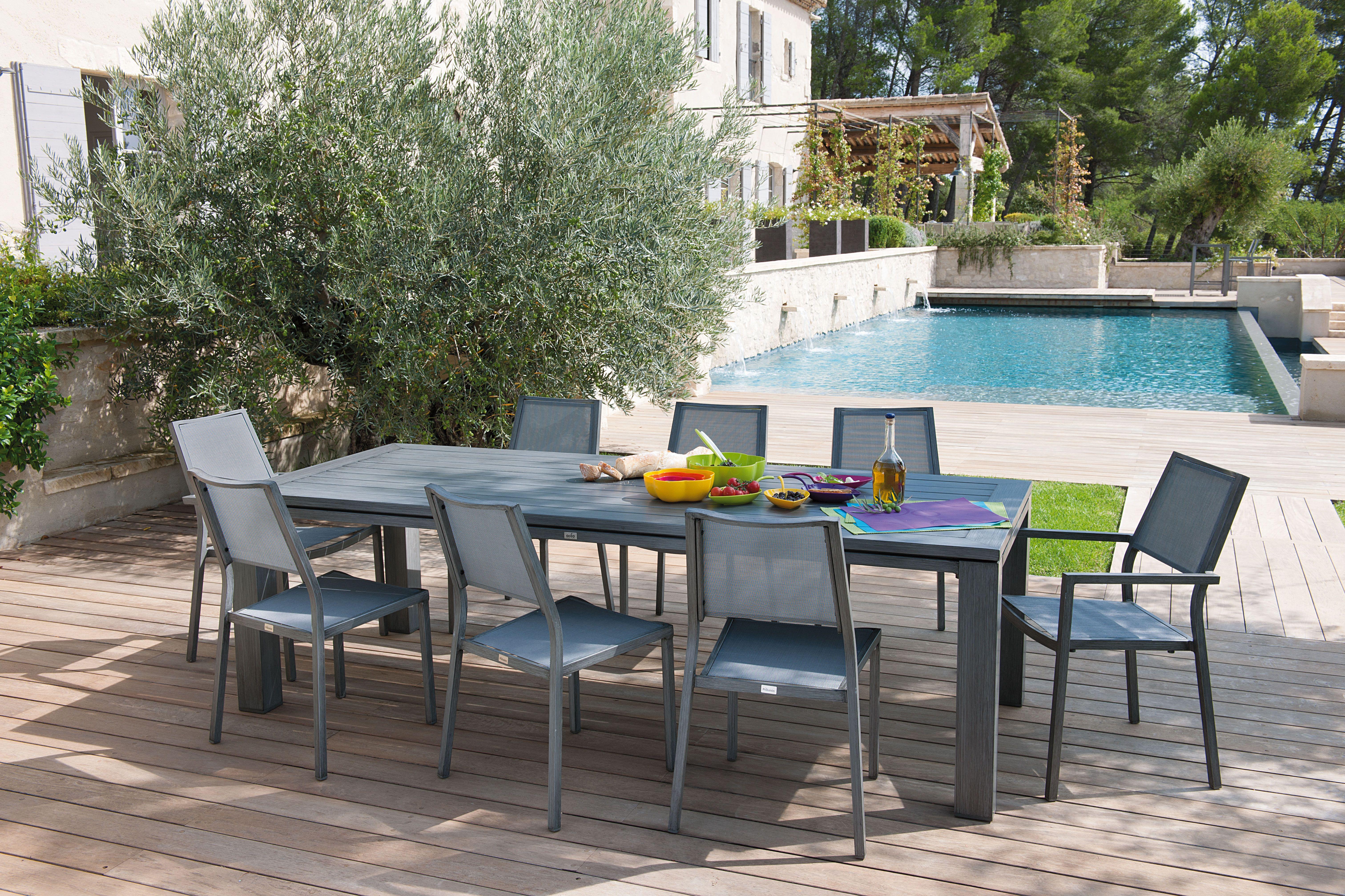 Decoration Terrasse Truffaut | Table Exterieur Jardin Table Pliante ...