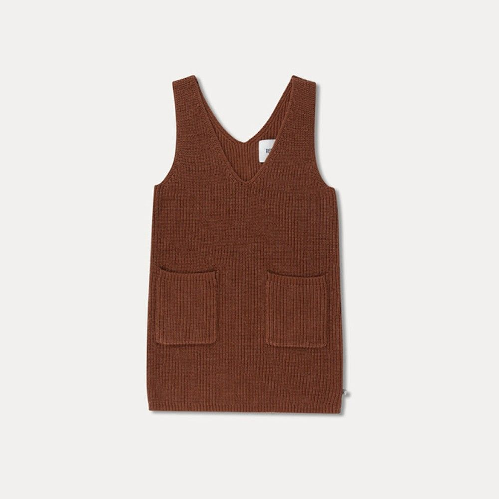 Repose Ams Leaf Brown Spencer Dress Tank Top Fashion Mens Tops