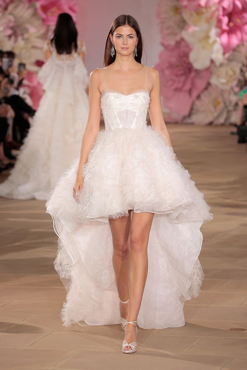12efaf8c2c0a Such a cute high low wedding dress for the non traditional bride.