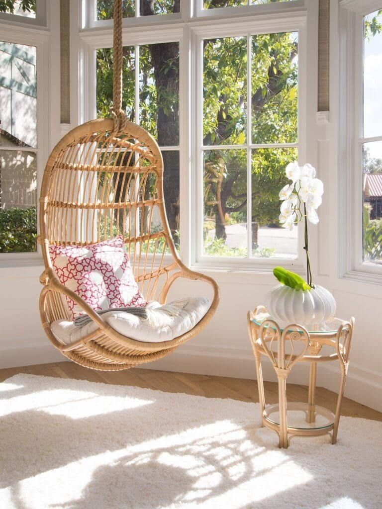 Beautiful And Stylish Indoor Swing Chair For Bedroom in