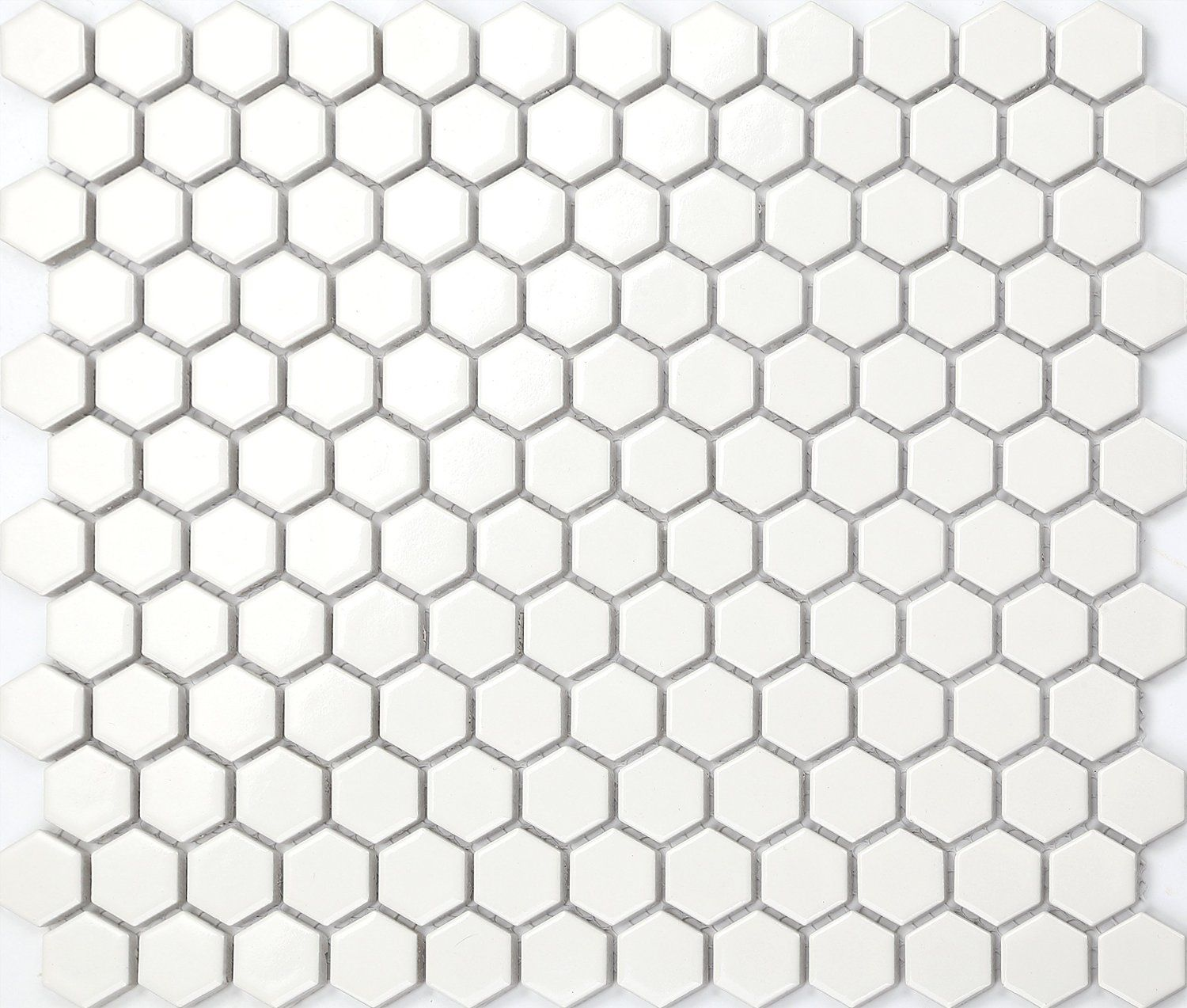 Mosaik Fliesen Zement Hexagon Struktur Keramik Mosaik Fliesen Matte In Weiß Mt0089
