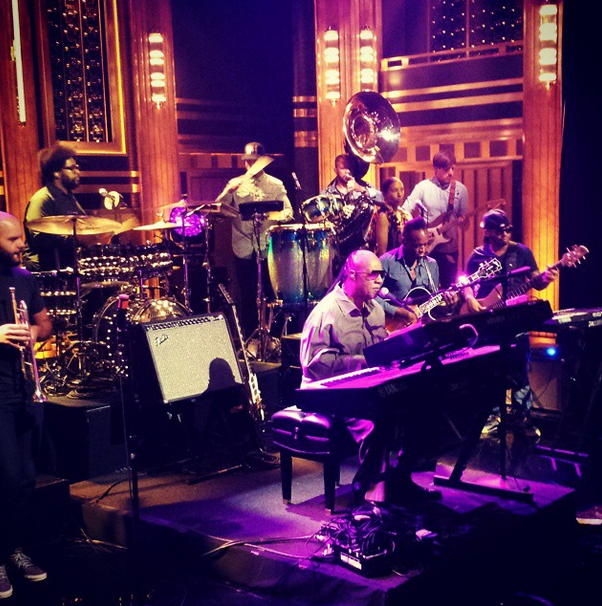Stevie Wonder And The Roots Sing A Surprise Happy Birthday