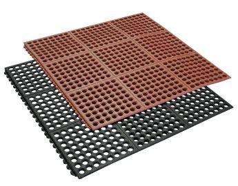 dura chef interlock rubber kitchen mats - Rubber Mats For Kitchen