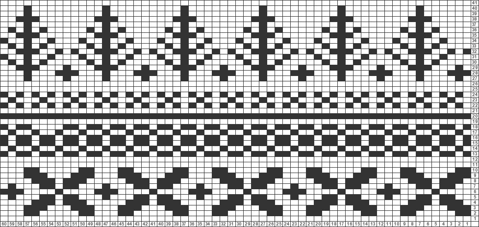 Tricksy Knitter Charts: Fair Isle hat brainstorm by Janice J ...