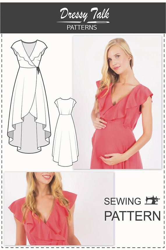 Maternity Sewing Patterns - Pregnancy Dress Patterns - Sewing ...