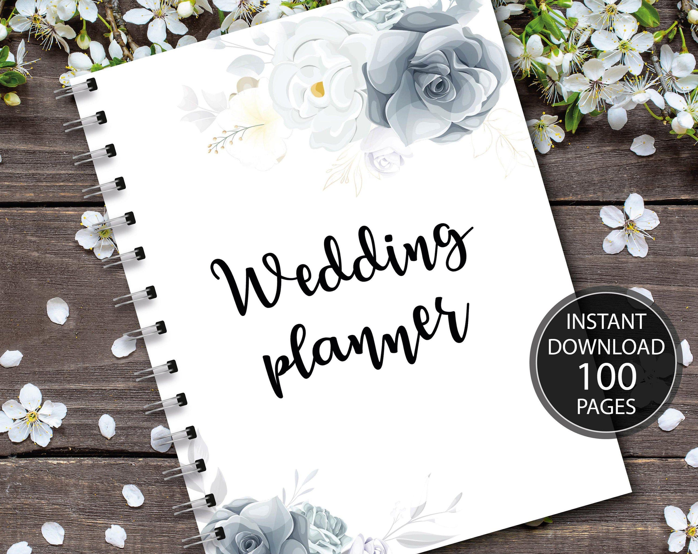 Wedding Planner Printable Printable Wedding Planner Kit