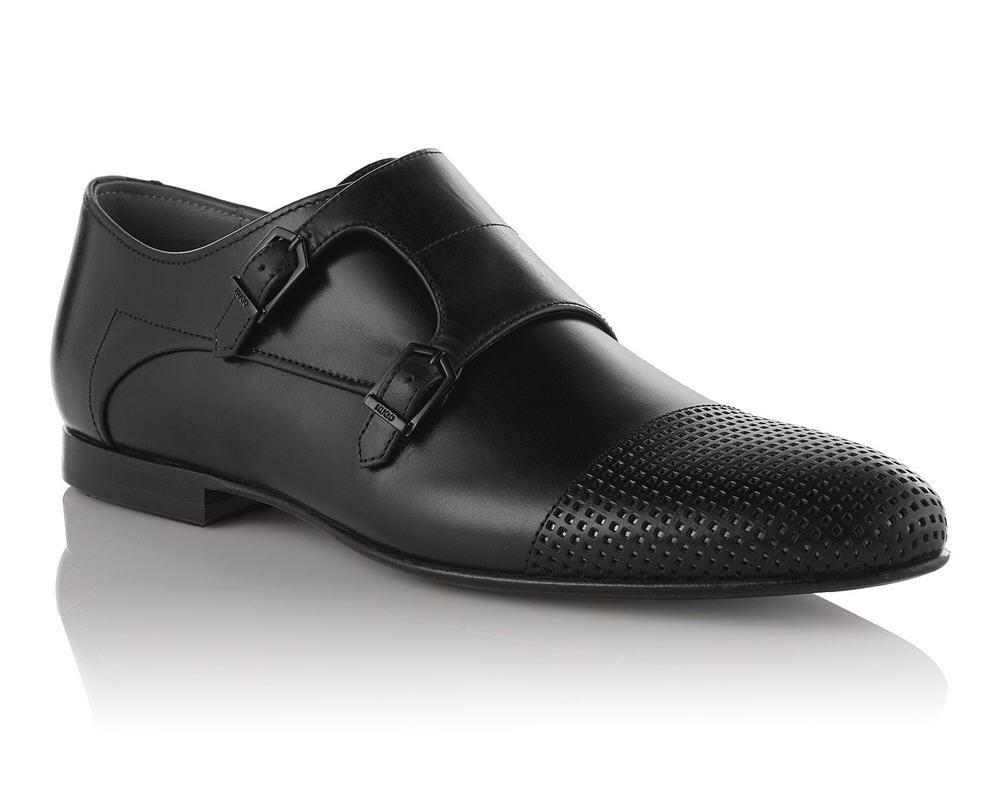 Chaussures derby en cuir poli270.00BOSS gOsbkJlSR