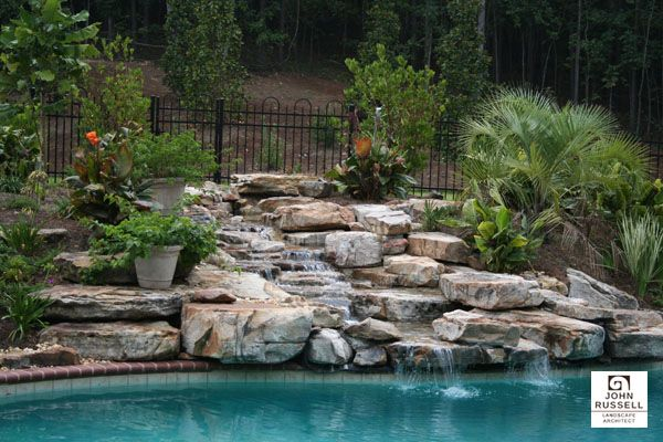 Landscaping Water Feature By John Russell Landscape Artist In Birmingham Al Landscaping Water Feature Landscape Architect Landscape Projects