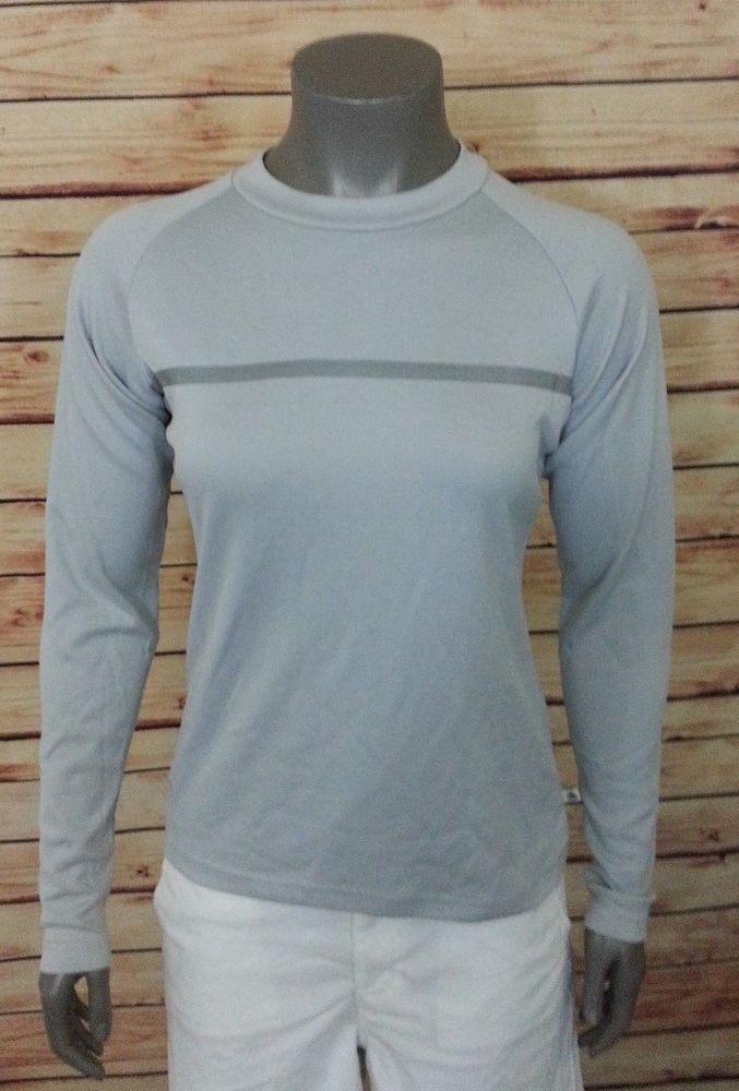 Nike Dri Fit ACG athletic top womens size M 8 -10 long sleeve #Nike #ShirtsTops