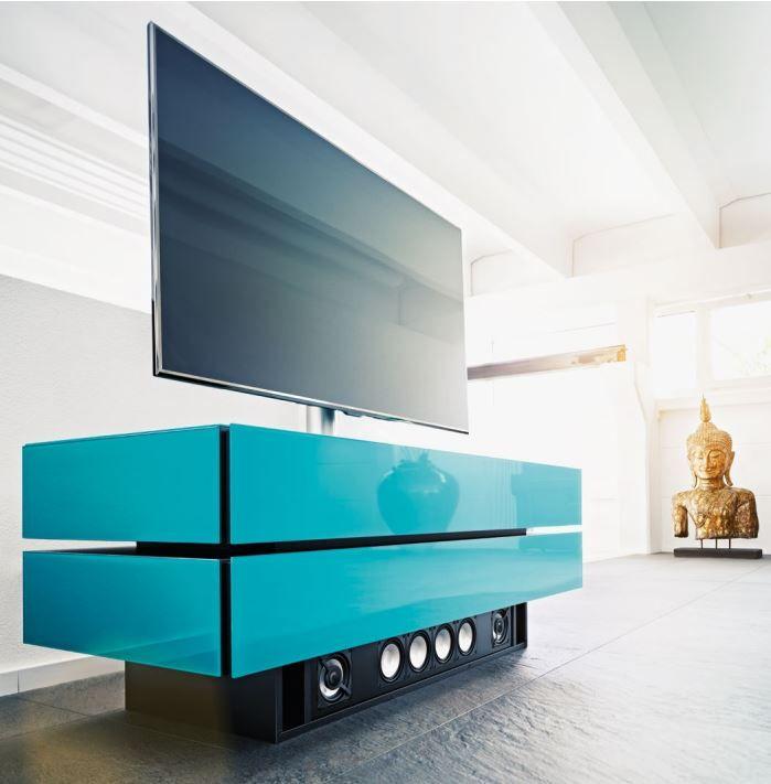 Le Meuble Tv Spectral Brick 1502 Bleu Petrole Propose Un Design Moderne Et Elegant Http Www Easylounge Com Meuble Tv Spectral Furniture Design Design Home