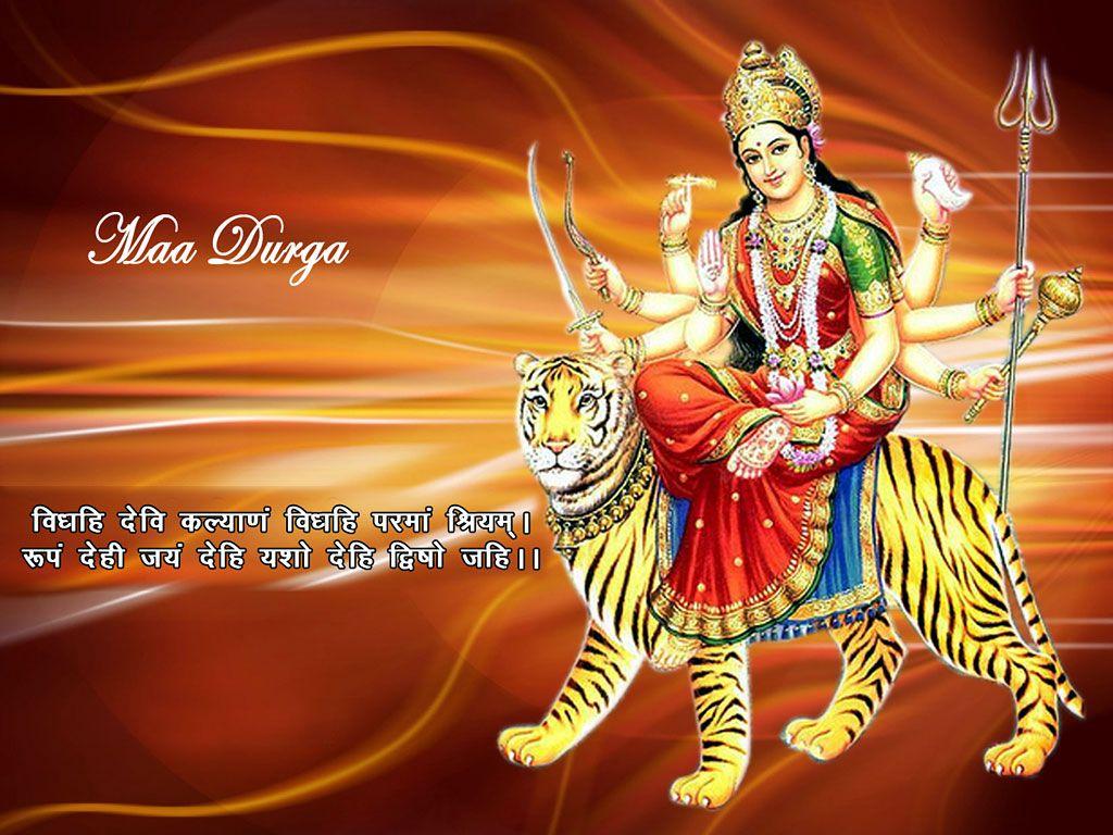 Download Jai Mata Di Wallpaper On Navratri HD FREE