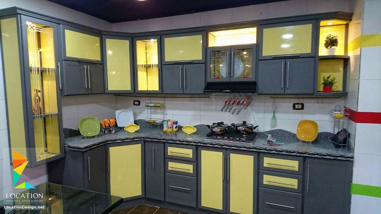 أحدث كتالوج صور تصميمات مطابخ مودرن من افضل الوان المطابخ 2019 2020 Kitchen Kitchen Cabinets Home Decor
