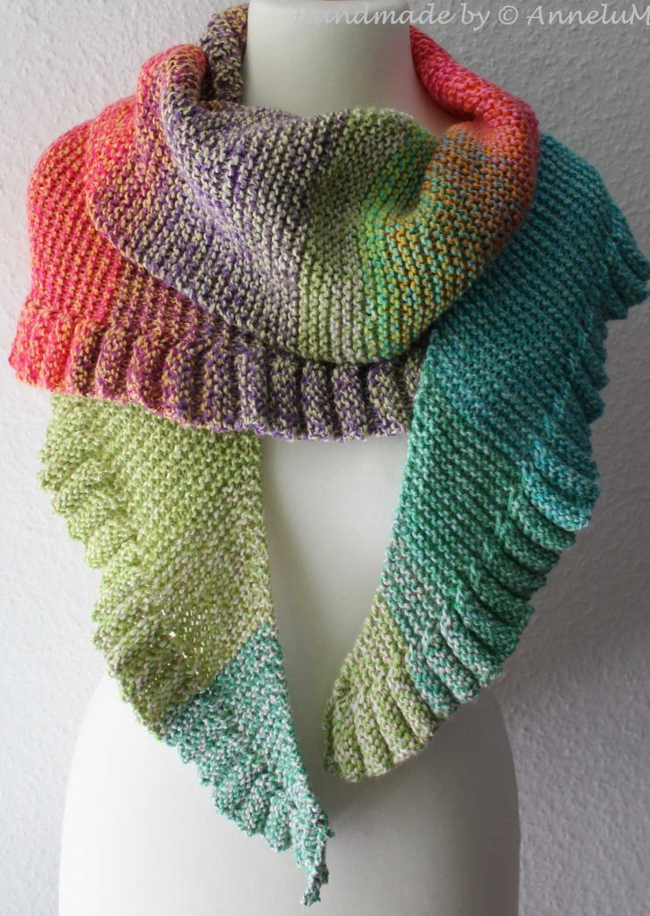 Photo of Lollipop-Shawl