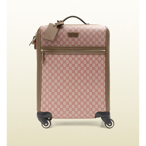 54b90586511e Gucci Gg Supreme Canvas Carry-On Suitcase | Travel in 2019 | Gucci ...
