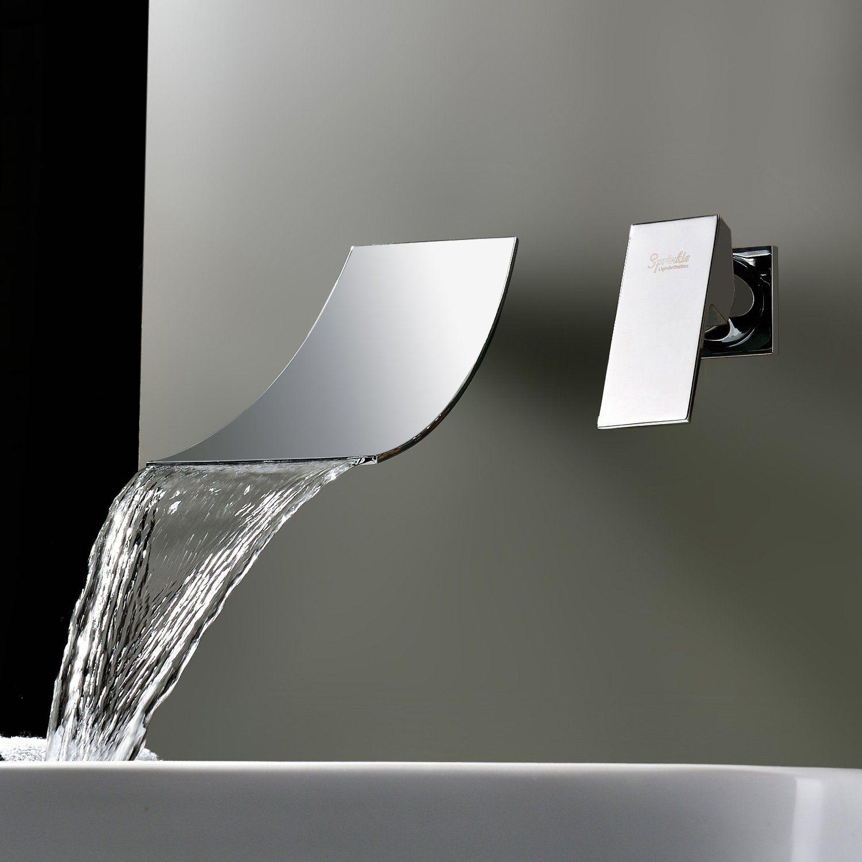 Sprinkle Wasserfall Verbreiteten Zeitgenossischen Waschbecken Wasserhahn Verchromt Waschtischarmatur Armat Mit Bildern Wasserhahn Bad Badezimmerideen Haus Interieu Design