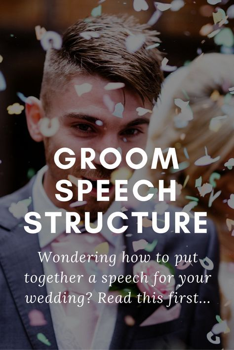 Writing Your Groom Speech Tips Examples Advice