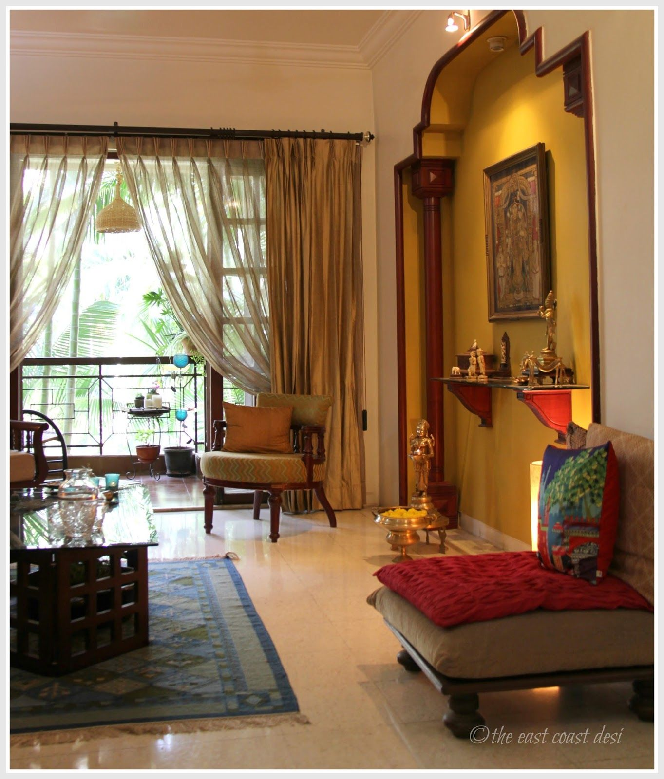 the east coast desi living with what you love home tour more - Desi Home Pic