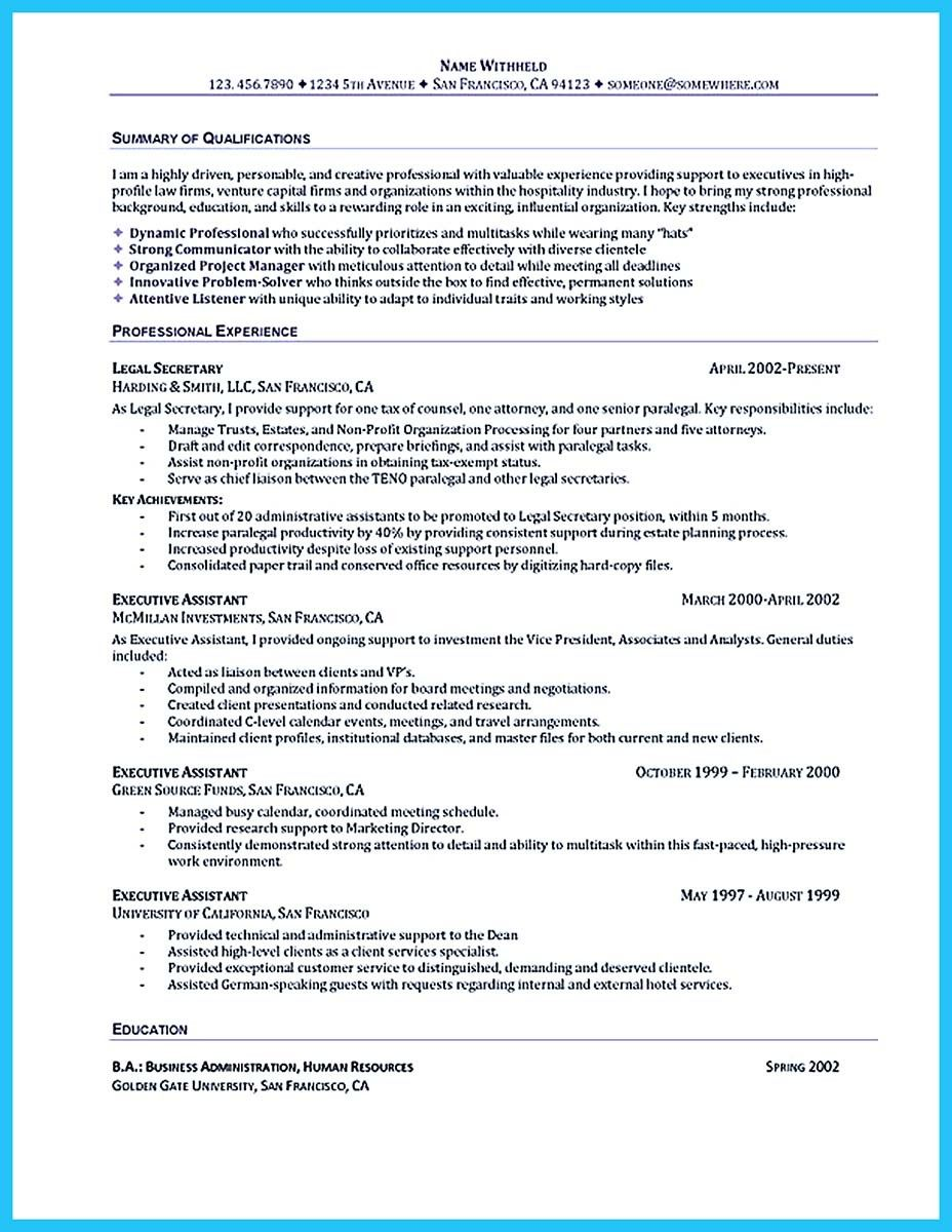 cool best administrative assistant resume sample to get