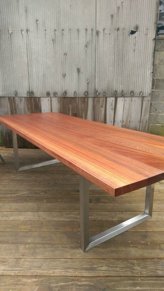 Products Stainless Steel Modern Minimalist Table3 Modern Rustic