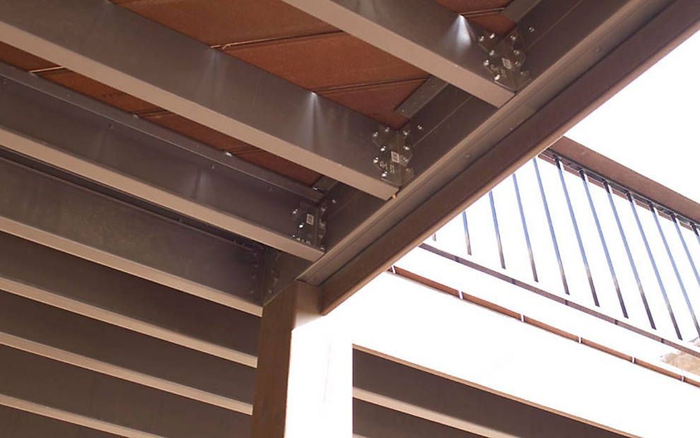 Photo Gallery of Trex Elevations Steel Deck Framing & Substructure ...