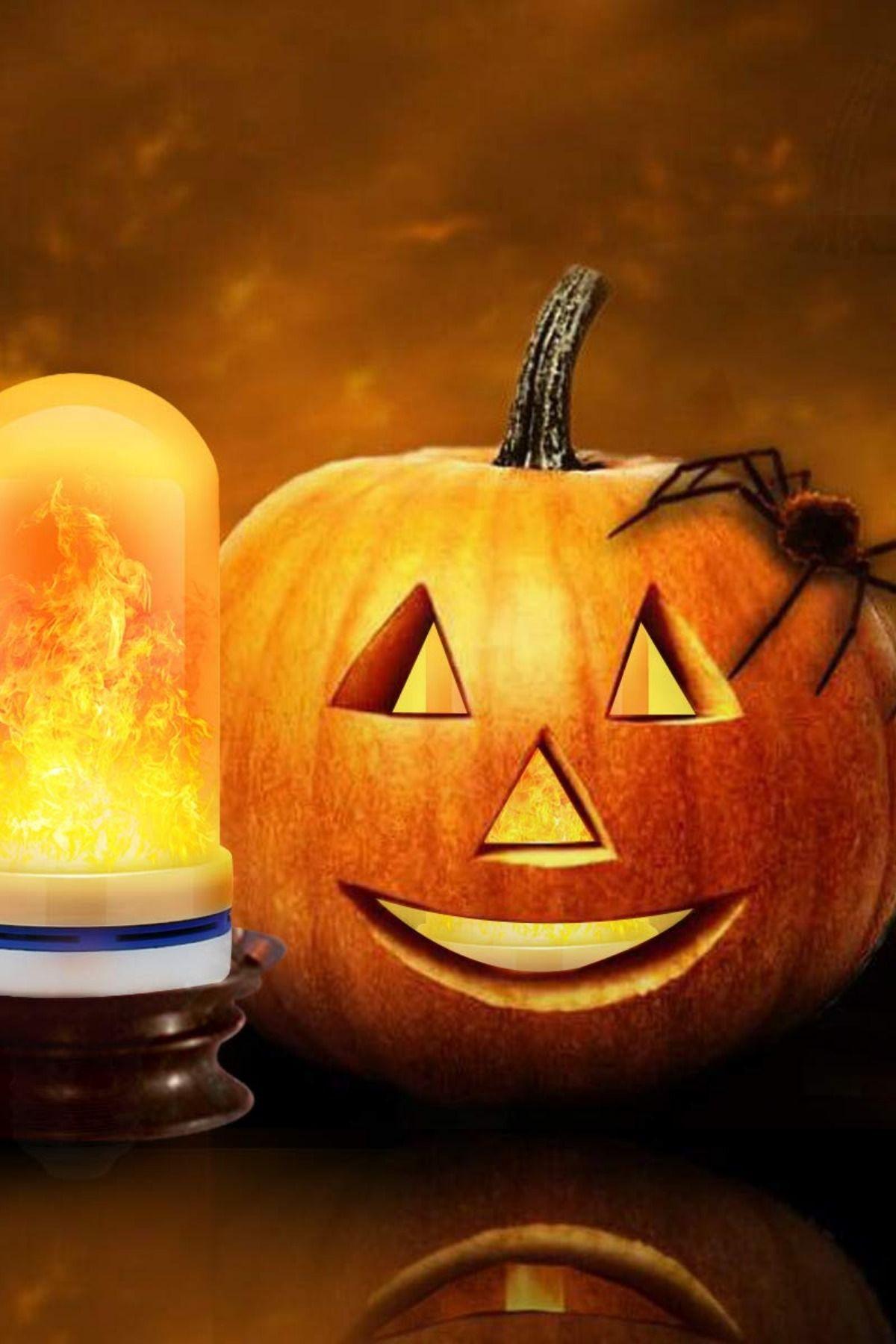 Flame Bulbs For Halloween Decoration Halloween Decorations Halloween Party Decor Hotel Bar