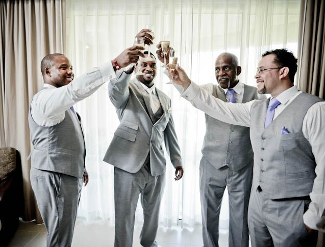 Cheers To The Groom http://beautifulbrownbride.blogspot.com/