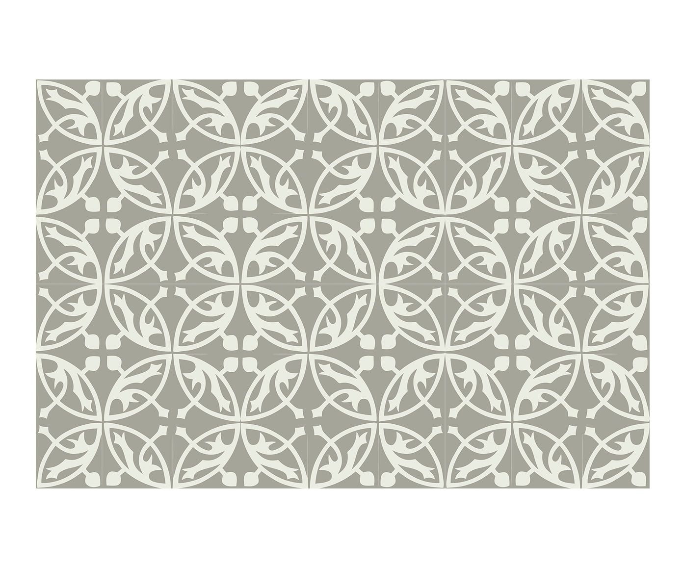 Alfombra Vin Lica Mosaico C Rculos 50x120 Cm Westwing