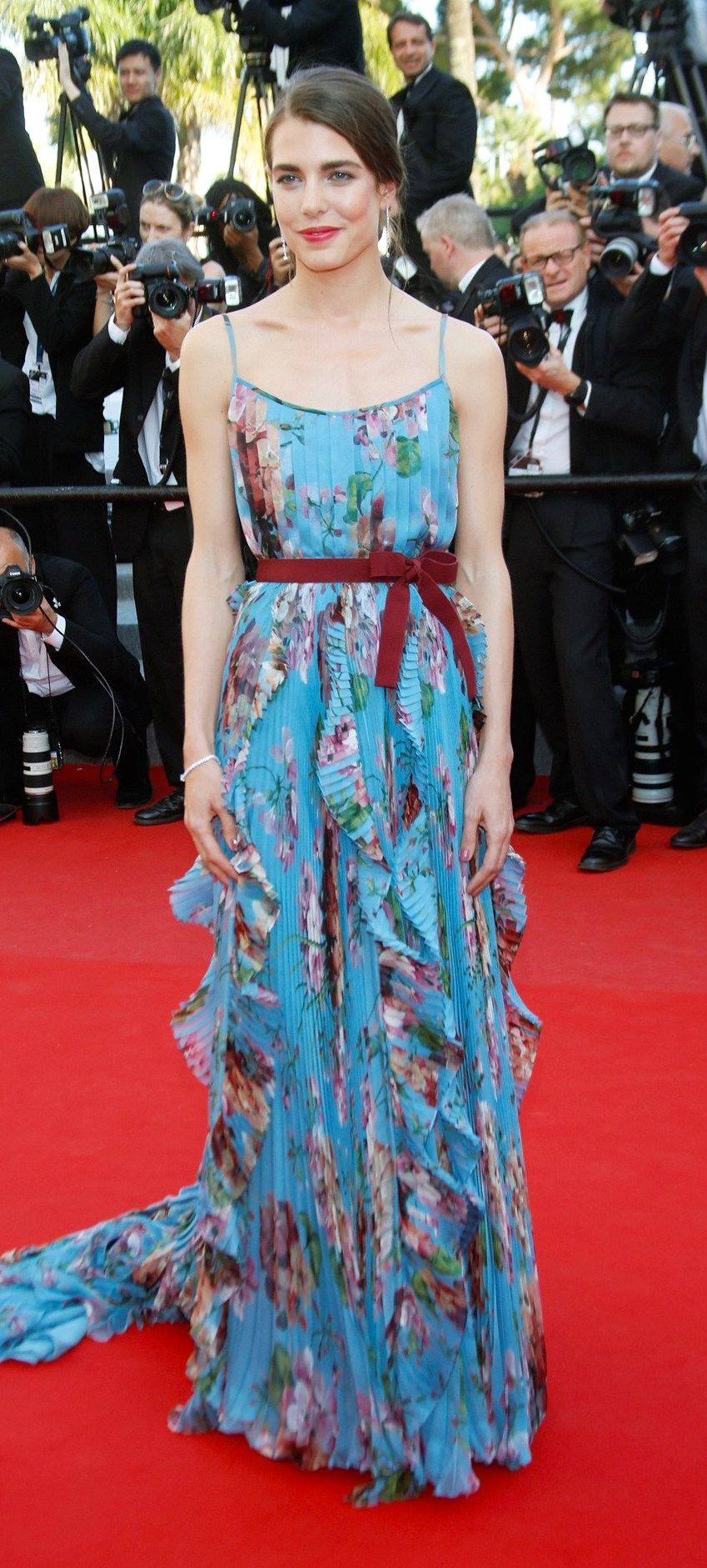 Charlotte Casiraghi wore a Gucci gown to attend the \